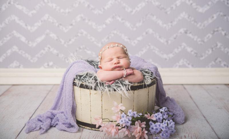 عکاسی از نوزاد در منزل