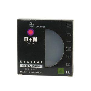 فیلتر پولاریزه بی پلاس دبلیو  B+W Circular-Pol 72 mm Lens Filter