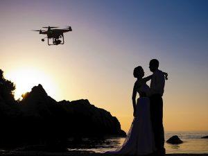 نکاتی درباره عکسبرداری عروسی با پهباد یا کواد کوپتر