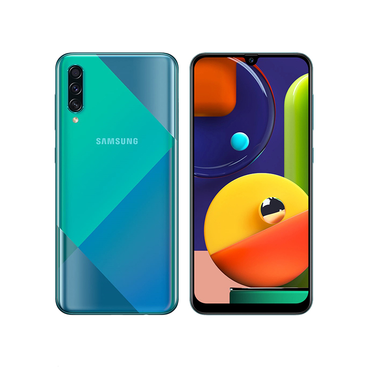 گوشی موبایل سامسونگ Samsung A50s SM-A507FN/DS 128GB Mobile - Green