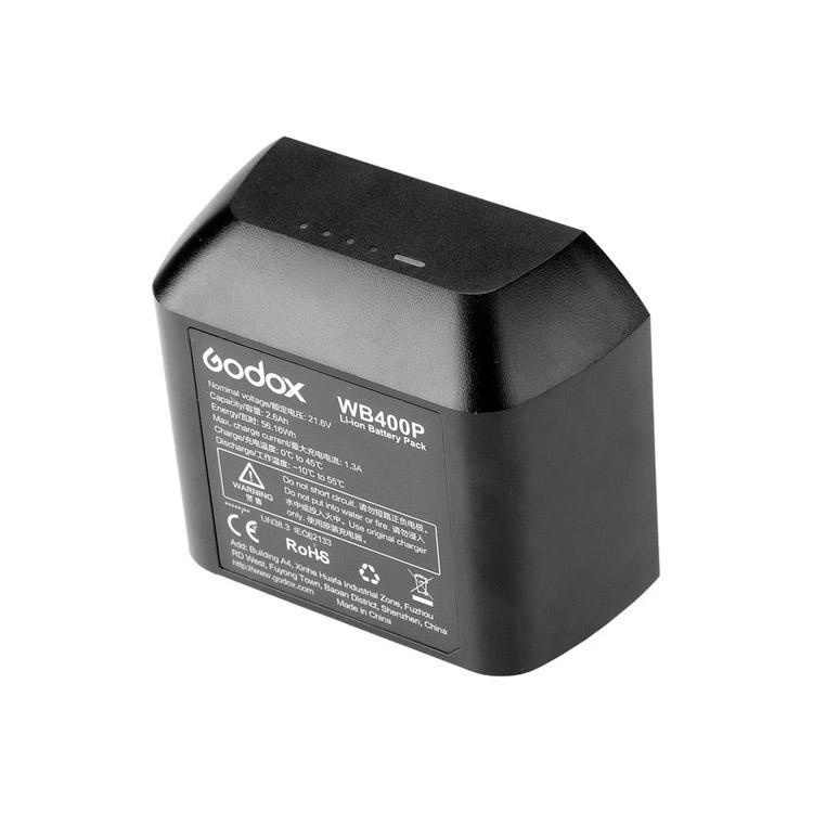 آداپتور برق مسقیم Godox Li-Ion Battery for AD400Pro Flash Head