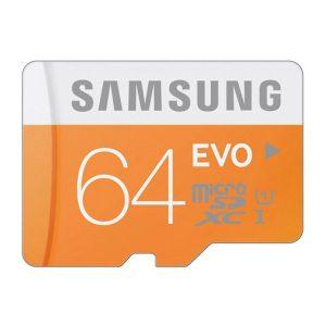 کارت حافظه Samsung Micro SD Evo 64GB