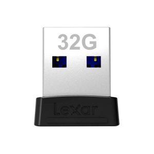 فلش مموری Lexar Jumpdrive S47 PLUS 32GB USB 3.1 250R LJDS47_32GABBK Flash Drive