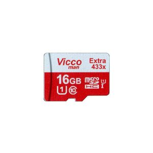 کارت حافظه ویکومن Vicco Man Micro SD 433X 16GB With Adapter