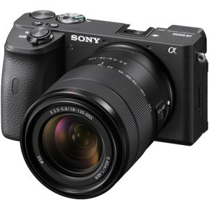 دوربین بدون آینه سونی Sony Alpha a6600 Mirrorless Digital Camera kit 18-135mm