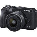 .دوربین بدون آینه کانن Canon EOS M6 Mark II kit 15-45mm