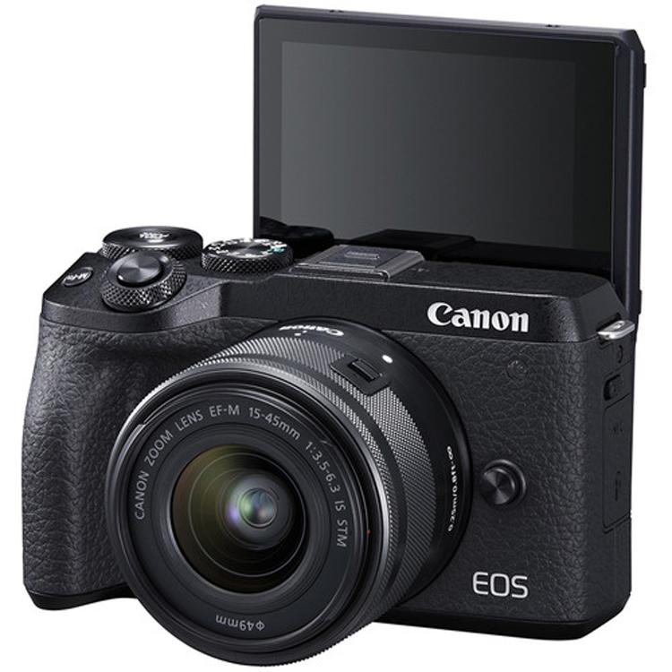 دوربین کانن EOS M6 II با لنز EF-M 15-45mm