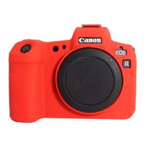 کاور دوربین Silicon Cover Canon EOS R رنگ قرمز