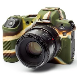 کاور دوربین Silicon Cover Canon EOS R رنگ استتار