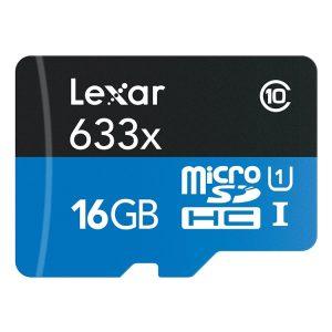 کارت حافظه لکسار LEXAR Micro SD 633X 16GB