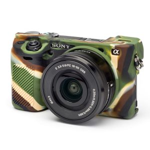 کاور دوربین Silicon Cover Sony A6400 رنگ استتار