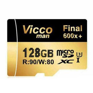 کارت حافظه ویکومن Vicco Man Micro SD 600X 128GB