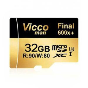 کارت حافظه ویکومن Vicco Man Micro SD 600X 32GB Without Adapter