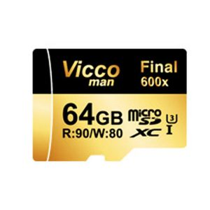 کارت حافظه ویکومن Vicco Man Micro SD 600X 64GB