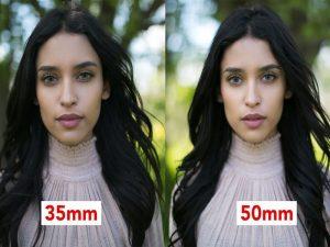 کدام لنز را بخریم؟ ۳۵ میلیمتر یا ۵۰ میلیمتر