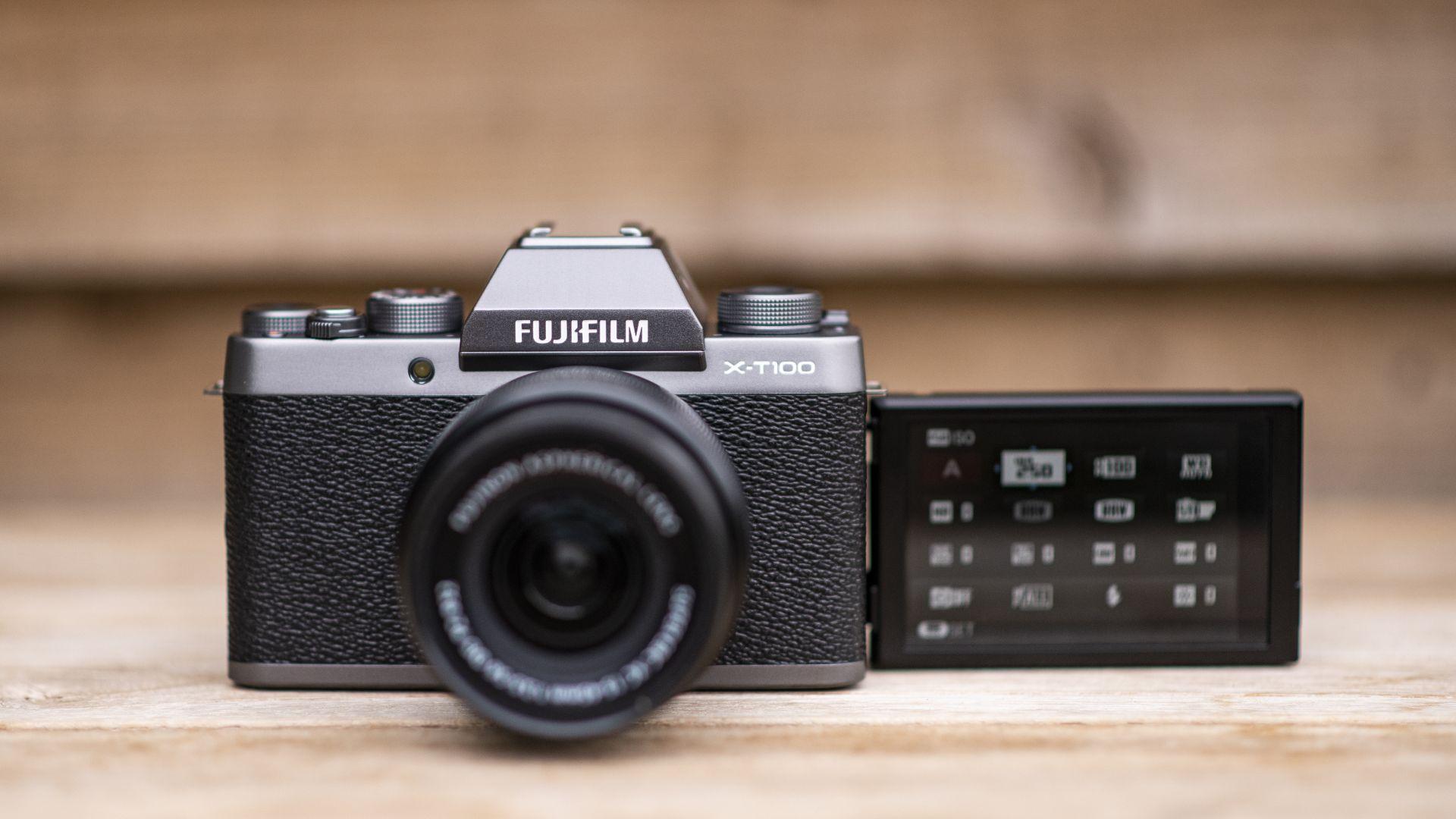 قیمت دوربین فوجی X-T100 with15-45mm