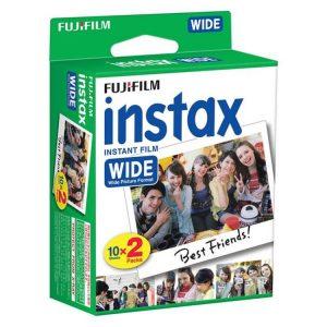 کاغذ پرینتر فوجی Fujifilm Instax Wide White Film 2pack