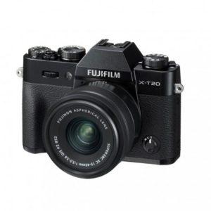 دوربین بدون آینه فوجی FUJIFILM X-T20 with15-45mm Black