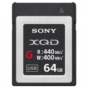 کارت حافظه سونی 64GB XQD