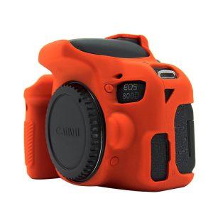 کاور دوربین Canon 800D رنگ قرمز