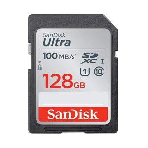 کارت حافظه سندیسک SanDisk 128GB Ultra SDHC 100MB/s