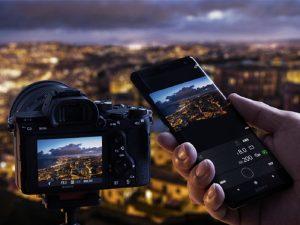 آموزش نحوه اتصال دوربینهای سونی به تلفن همراه + ویدئو