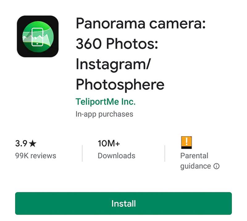 آموزش عکاسی پانوراما 360 درجه