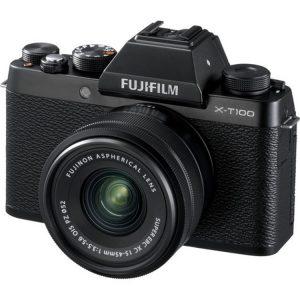 دوربین فوجی X-T100 kit 15-45mm black