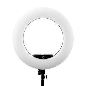 رینگ لایت عکاسی ریموت دار Ring light FE 480II با صفحه نمایش و کیف و سه پایه