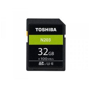 کارت حافظه توشیبا Toshiba N203 SDHC 32 GB 100 MB/s