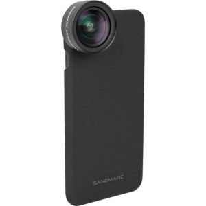 لنز موبایل سندمارک Sandmarc Wide-Angle Lens with clip & Case For Iphone 7/8/SE2