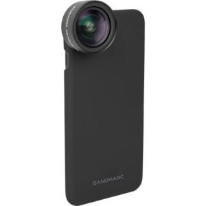 لنز موبایل سندمارک Sandmarc Wide-Angle Lens with clip & Case For Iphone 7Plus/8plus