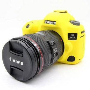 کاور دوربین Canon Eos 5D Mark IV رنگ زرد