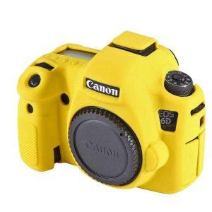 کاور دوربین Canon 6D رنگ زرد