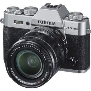 دوربین بدون آینه فوجی فیلم FUJIFILM X-T30 Mirrorless kit 18-55mm Silver
