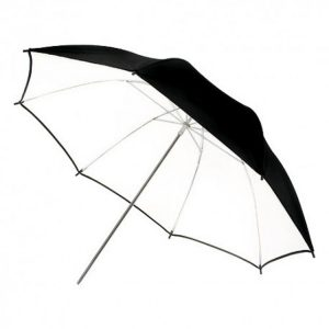 چتر داخل سفید Harmony Umbrella Black/White 101cm