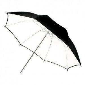 چتر داخل سفید Harmony Black/White 101cm