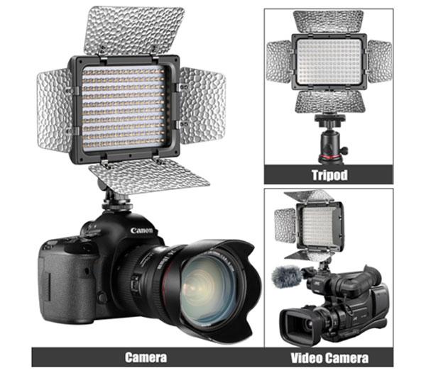 بررسی نور ثابت رو دوربین