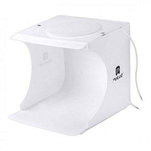 خیمه پلوز ال ای دی دار Puluz 20x20 2xLEDs Light Tent