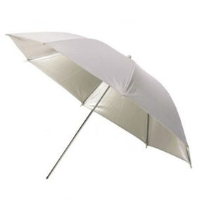چتر داخل سفید Harmony Silver/White 101cm