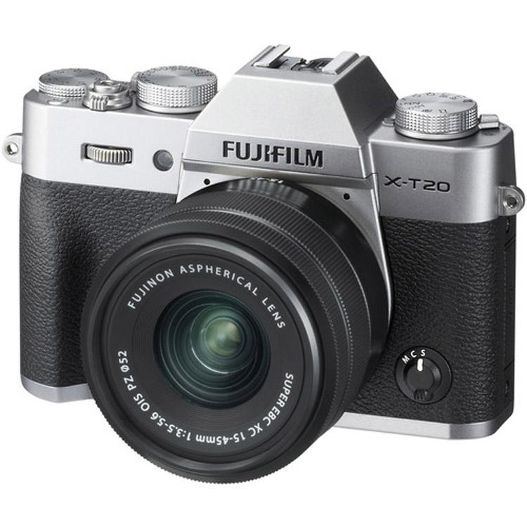 دوربین فوجی FUJIFILM X-T20 silver