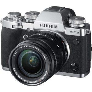 دوربین بدون آینه فوجی FUJIFILM X-T3 Kit 18-55mm Silver