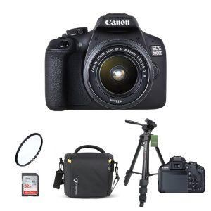 دوربین کانن Canon 2000D 18-55mm III+لوازم جانبی