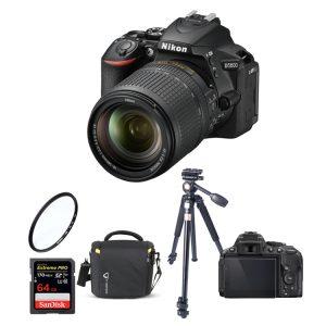 دوربین نیکون Nikon d5600 kit 18-14 همراه لوازم جانبی