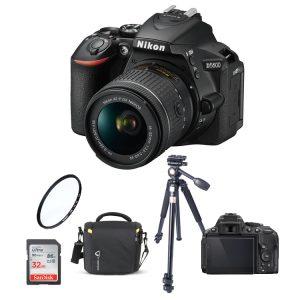 دوربین نیکون Nikon D5600 18-55 همراه لوازم جانبی