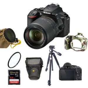 دوربین نیکون Nikon D5600 Kit 18-140mm f/3.5-5.6G VR+لوازم جانبی