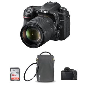 دوربین نیکون D7500 kit همراه لوازم جانبی