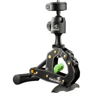 گیره دوربین تایم لپس مدل TAKEWAY-CLAMPOD-T1