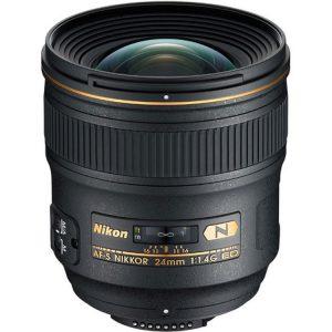 لنز واید AF-S Nikkor 24mm f/1.4G ED