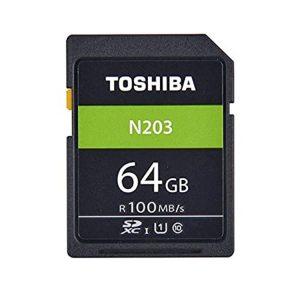 کارت حافظه توشیبا Toshiba N203 SDHC 64GB 100 MB/s